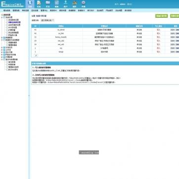 帝国CMS新闻资讯SEO站群整站网站源码模板HTML5自适应响应式手机后台功能