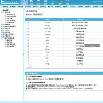 图片新闻博客文章下载帝国CMS自适应HTML5响应式手机网站模板整站后台功能
