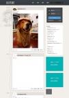 搞笑动态图片笑话娱乐网站帝国CMS模板整站自适应响应手机4G数据
